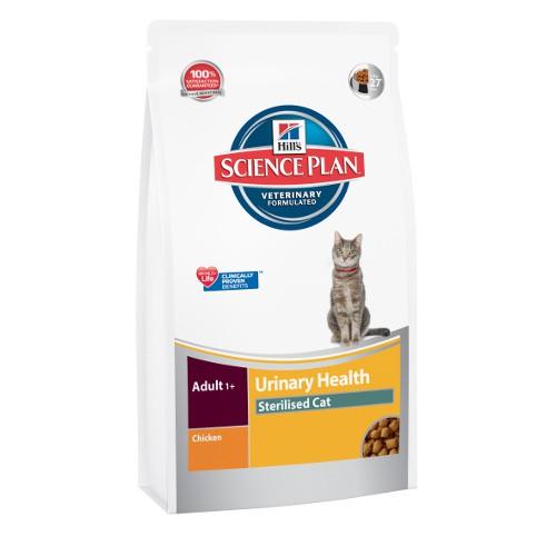 Hill´s Science Plan Urinary Health Sterelised pienso para gatos esterilizados sabor pollo