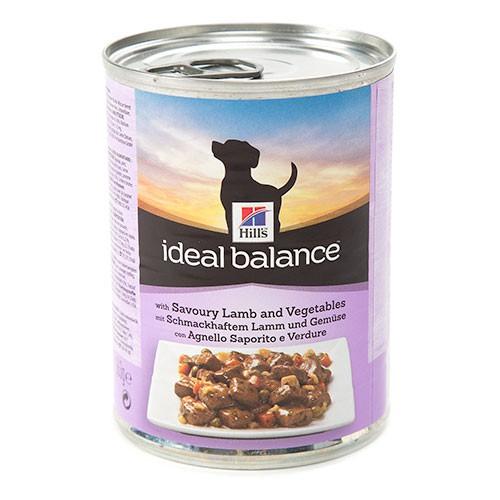 Hill's Ideal Balance comida húmeda para perros con cordero y verduras