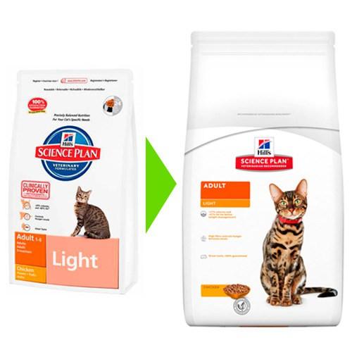 Hill's Feline Light Pollo