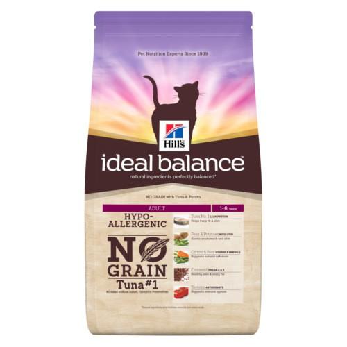 Hill's Ideal Balance Adult No Grain pienso para gatos con atún y patata