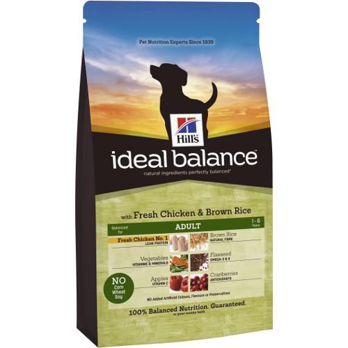 Hill's Ideal Balance Adult pienso para perros con pollo y arroz integral