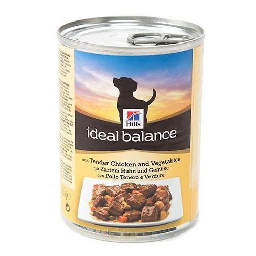 Hill's Ideal Balance comida húmeda para perros con pollo y verduras