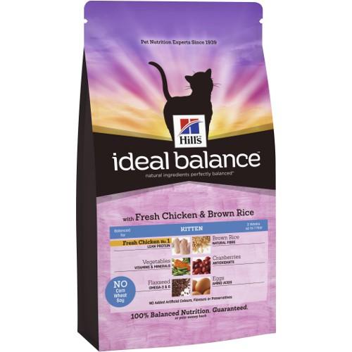 Hill's Ideal Balance Kitten pienso para gatos con pollo y arroz