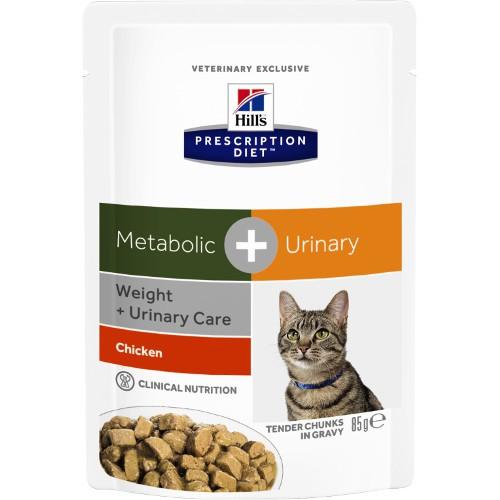 Hill´s Prescription Diet Metabolic Urinary comida húmeda para gatos ...