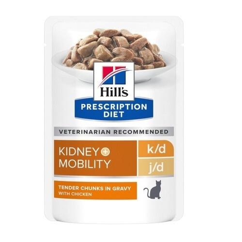 Hill's Prescription Diet k/d   Mobility húmedo para gatos