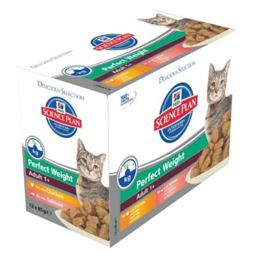 Hill´s Science Plan Perfect Weight Adult comida húmeda para gatos