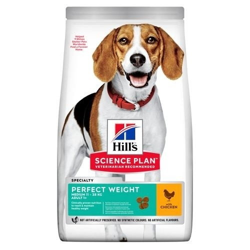 Hill's Science Plan Perfect Weight Canine Medium pienso para perros