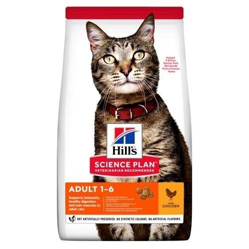 Hill's Science Plan Pienso seco gato adulto sabor pollo