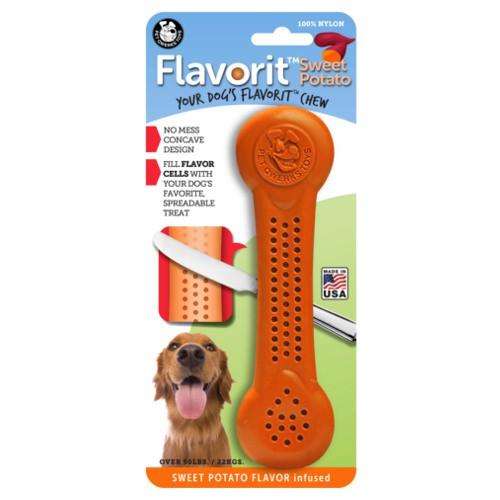 Hueso para perros rellenable Flavorit sabor batata
