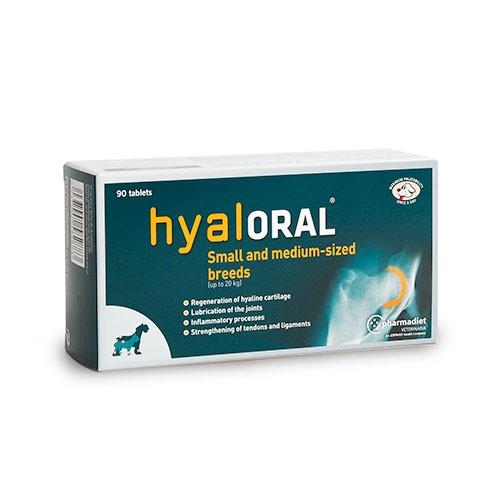 Condroprotector Hyaloral para perros pequeños y medianos