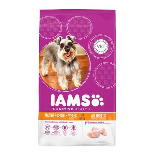 IAMS Proactive Mature para perros adultos  7 años