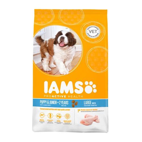 IAMS Proactive para cachorros razas grandes