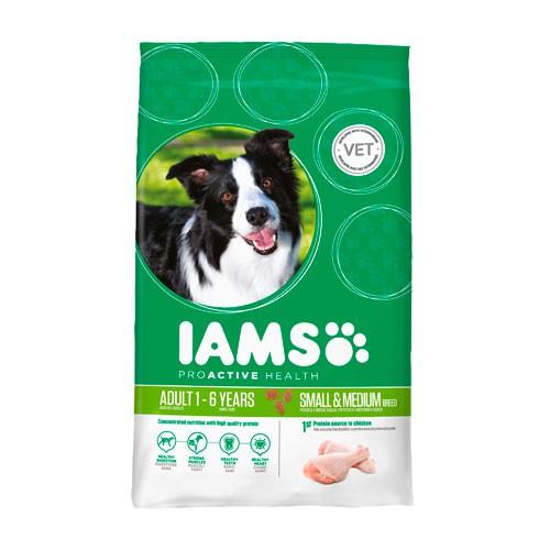 Iams proactive para perros adultos razas peque as medianas for Estanque para perros