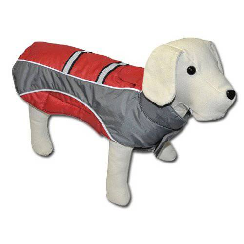 Mountain red jacket for dogs