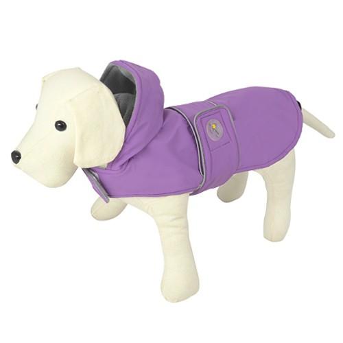 Impermeable para perros Dancing Rain lila