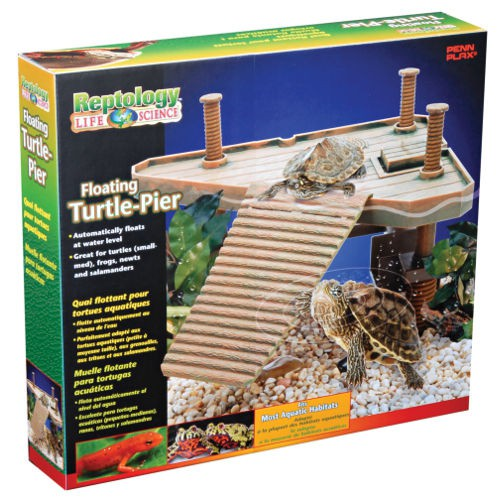 Isla para tortugas flotante Penn-Plax Reptology