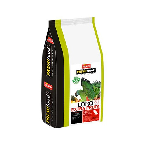 Jarad Premifood Mezcla de Frutas para Loro Premium