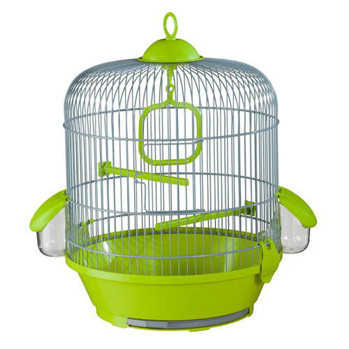 Small round cage for canaries
