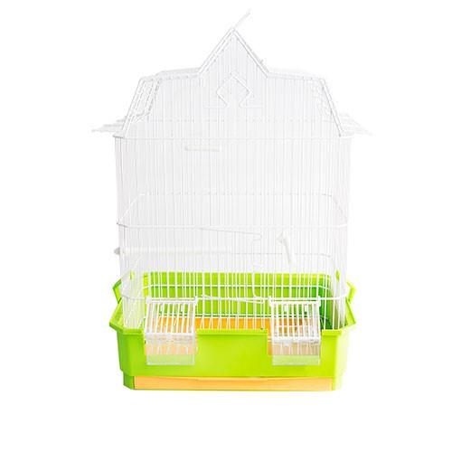 Jaula techo 3 picos tiendanimal for Estanque prefabricado rectangular