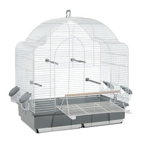 Jaula Voltrega para pájaros blanca 653
