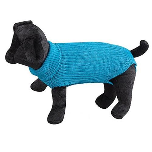 Jersey de lana para perros New Basic azul