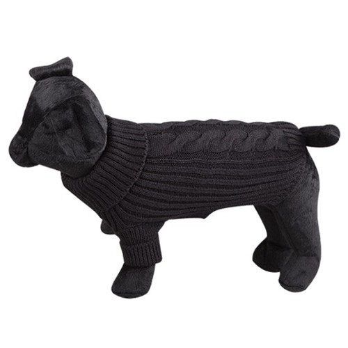 Jersey de lana para perros Terry negro - Tiendanimal b96a8d94ad22