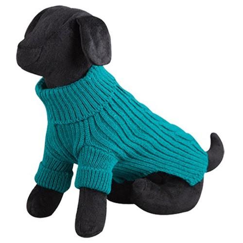 Jersey de lana para perros Terry verde