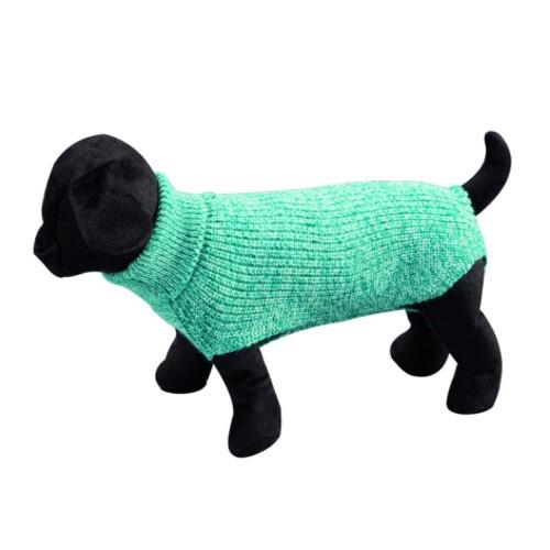Jersey liso de punto para perros Sander azul claro