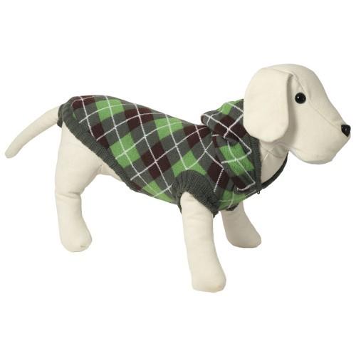 Jersey para perros de punto con capucha Oxford