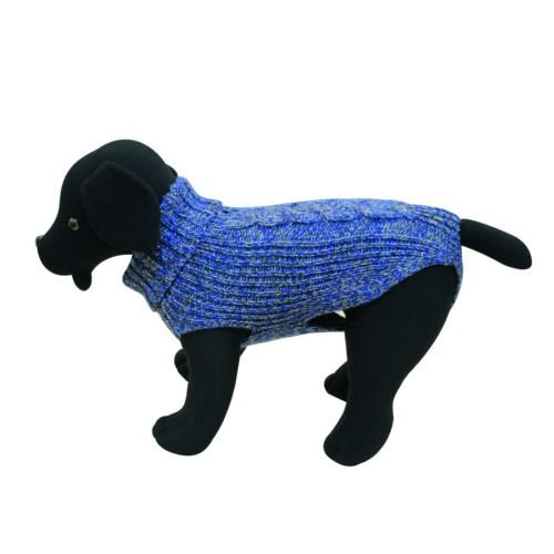 Jersey de punto para perros Cordelux azul