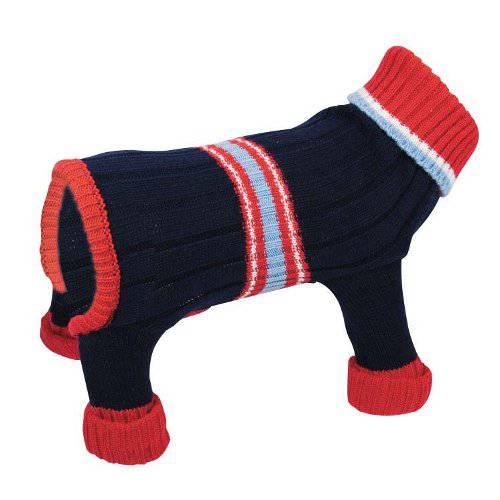 Jersey de punto azul con patas para perros - Tiendanimal 4e4a8b37c9d6
