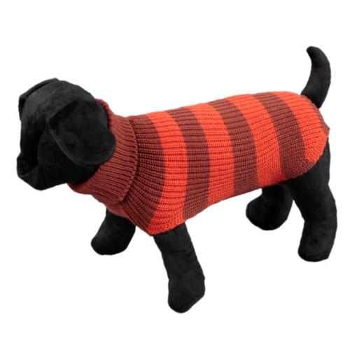Jersey a rayas para perros Vintage