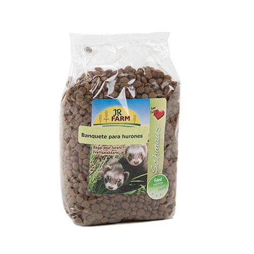 Alimento completo Premium para hurones JR-FARM