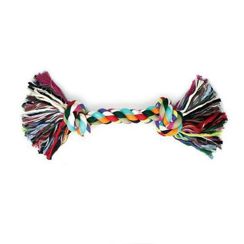 Juguete de cuerda para perros multicolor