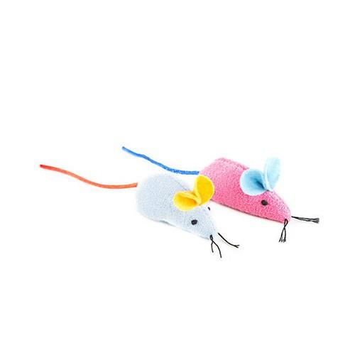 Juguete para gatos Irresistibles ratones con catnip