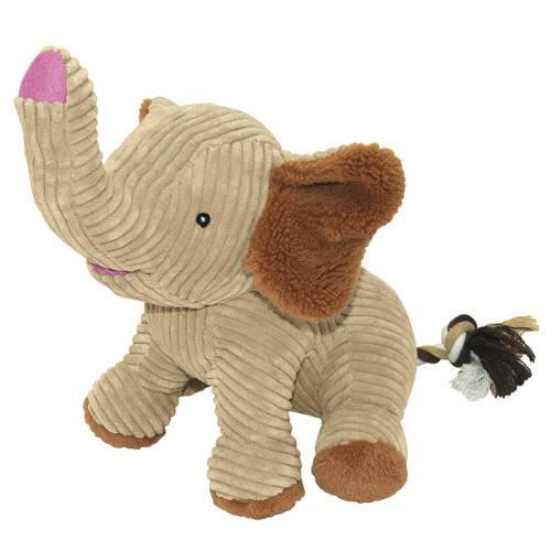 Juguete para perros Nayeco Peluche elefante feliz