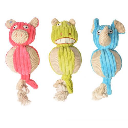 Juguete para perros Plush animalitos de peluche con cuerda