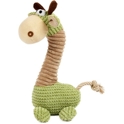 Juguete para perros Soft jirafa de peluche