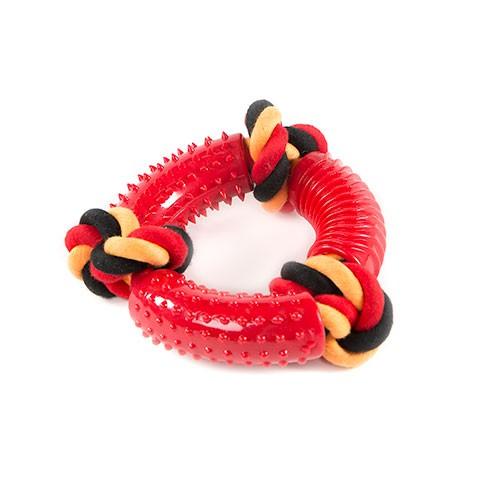 Juguete para perros TK-Pet SportDog aro con cuerda