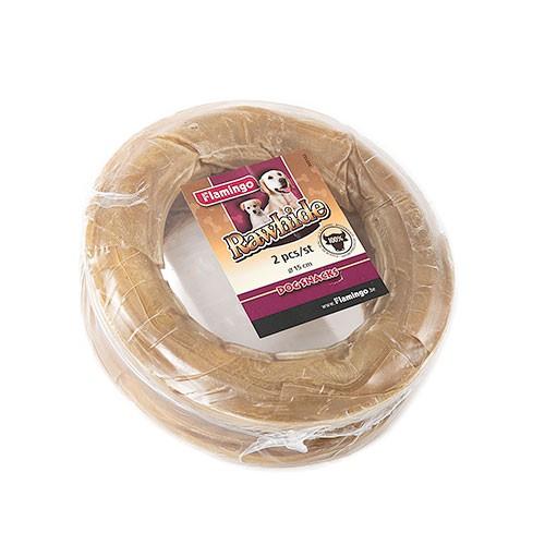 Snack para perros Aros de piel