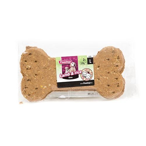Snack para perros galletas de cordero y arroz