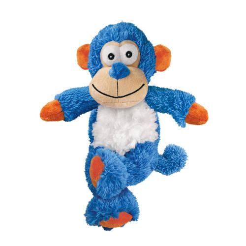 Kong Cross Knots Monkey juguete para perros con interior de cuerdas