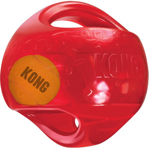 KONG Jumbler pelota para perros 2 en 1