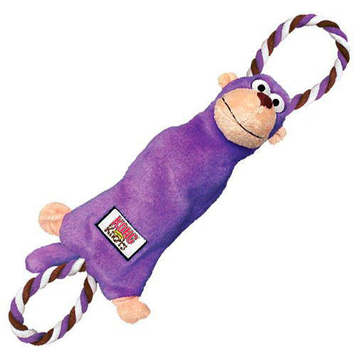 Kong Tugger Knots Peluche Mono con cuerda para perros