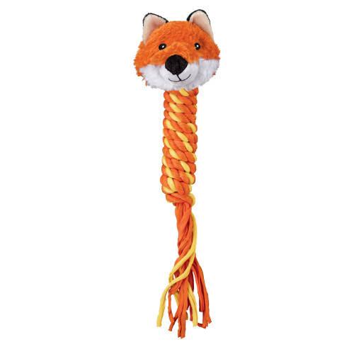 Kong Winder Fox juguete con cuerda para perros
