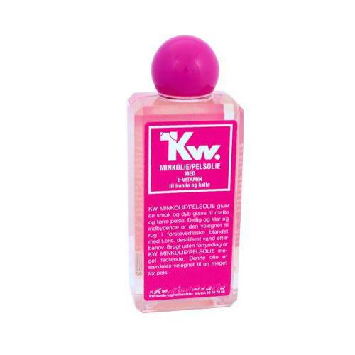 Kw aceite de visón puro para perros