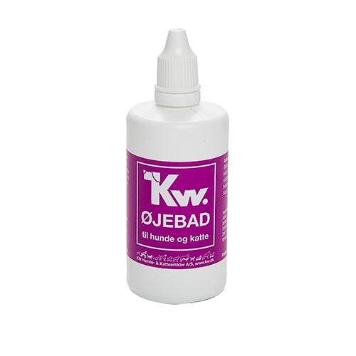 Kw colirio limpiador de ojos para perros y gato