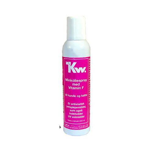 Kw spray de aceite de visón con lanolina