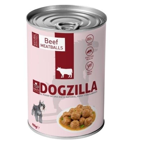 Lata Albóndigas Ternera Dogzilla para perros