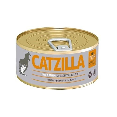 Lata para gatos Catzilla comida húmeda  sabores 100 gr